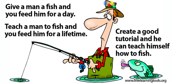 Teaching Students to Fish